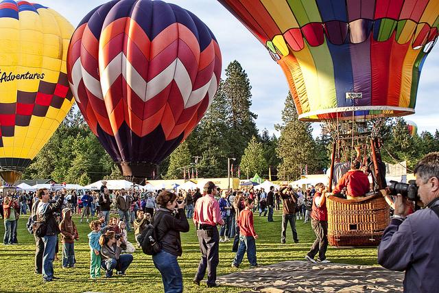 3. Take a Hot Air Balloon Ride