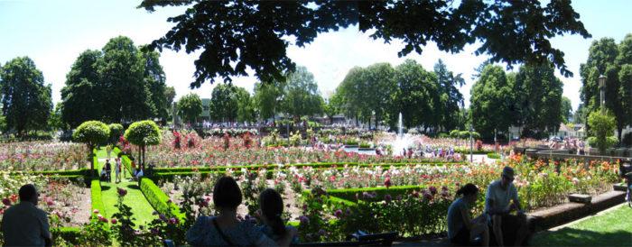 7. Peninsula Park Rose Garden