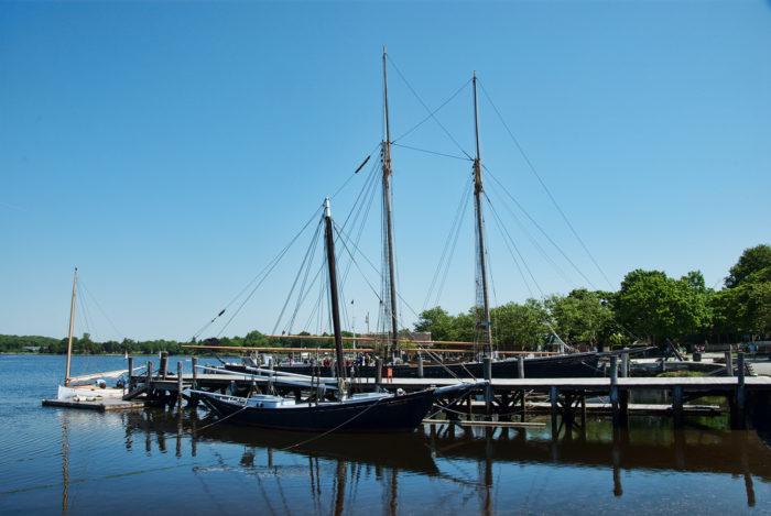 3. Historic Boats (Mystic Seaport)
