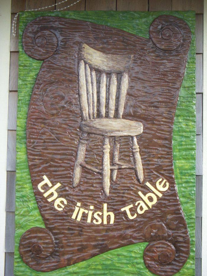 9. The Irish Table, Cannon Beach