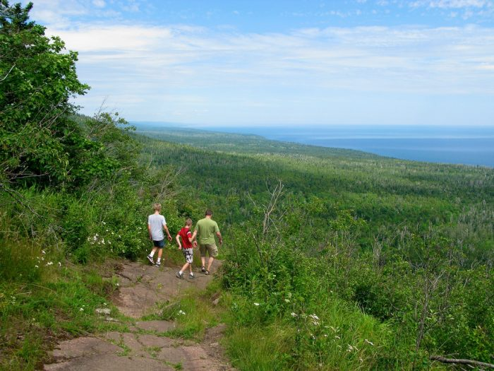 You'll find no shortage of spectacular views on this 2.3-mile hike - including 360s of the North Shore and surrounding mountains.