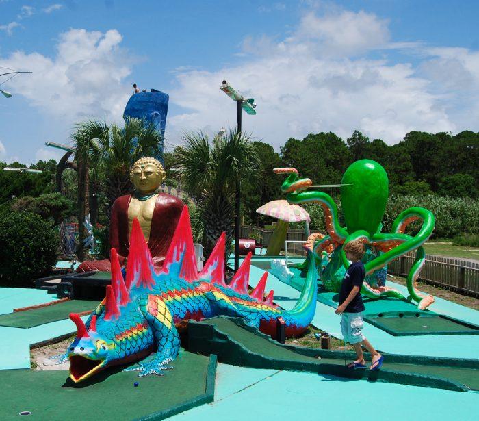 12. Goofy Golf,  Panama City