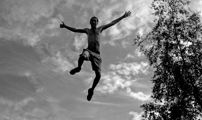 4. Crazy stunts (like jumping off of a roof) are to be expected.