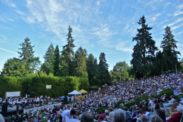 4. Concerts in the Park