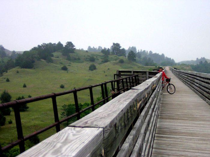 4. Hike or bike the Cowboy Trail.