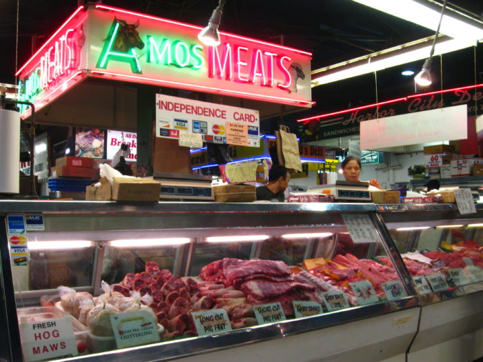 Meats galore...