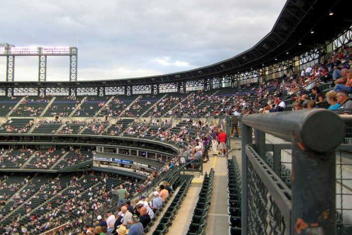 11. Coors Field also has mile high seats...