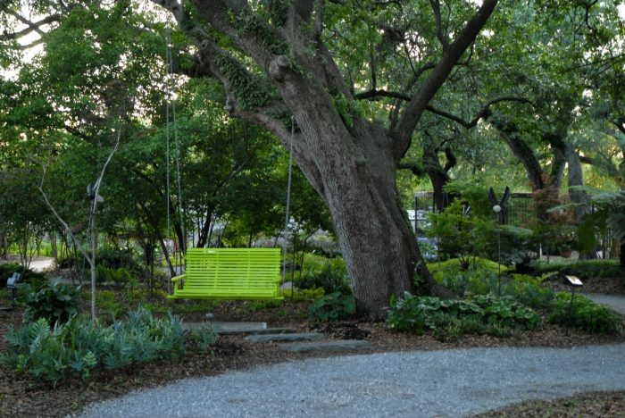 The gardens have made a remarkable recovery since Hurricane Katrina, where the majority of the plants in the gardens died.