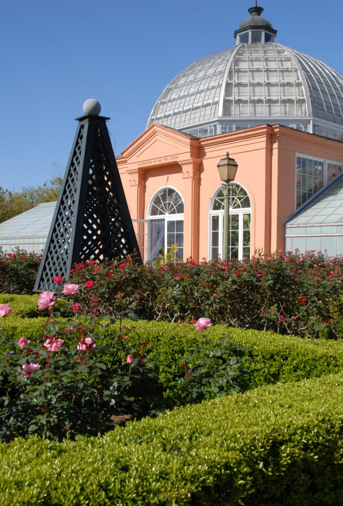 The New Orleans Botanical Gardens can be found in City Park.