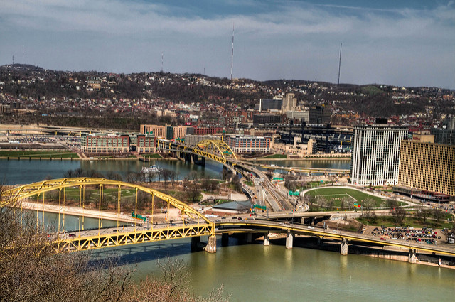 6. Pittsburgh is known as the City of Bridges…