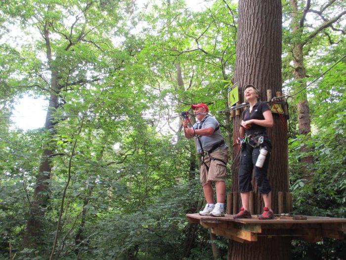 5. Zipline through the canopies at Jefferson Memorial Forest