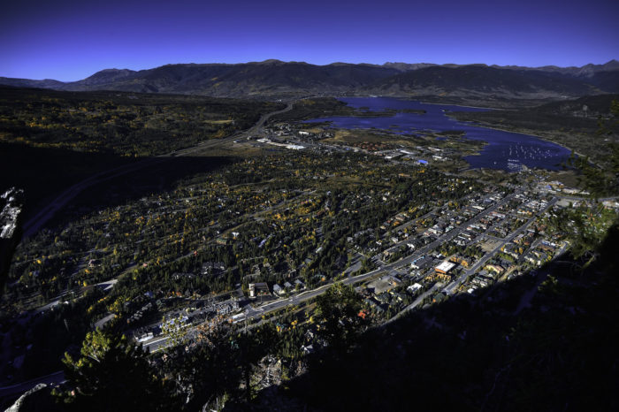 If you're feeling ambitious, the top of Mount Royal offers spectacular sweeping vistas of Frisco and Lake Dillon.