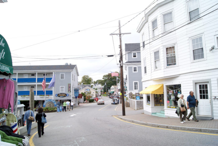 6. Stay away from downtown Boothbay Harbor and...
