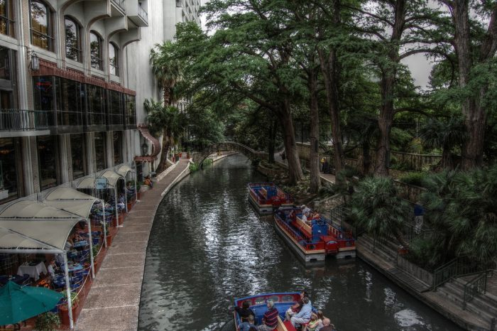 7. Taking a stroll down the famous River Walk and allowing the authentic, lively Mexican culture to permeate every pore in your body. (San Antonio)