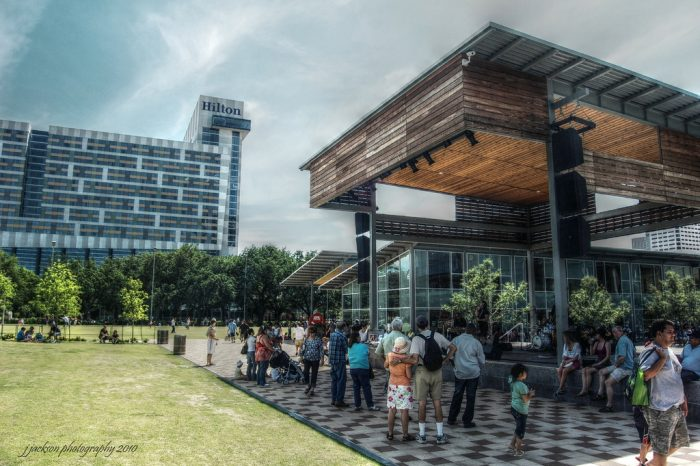 7. Enjoy a day at Discovery Green