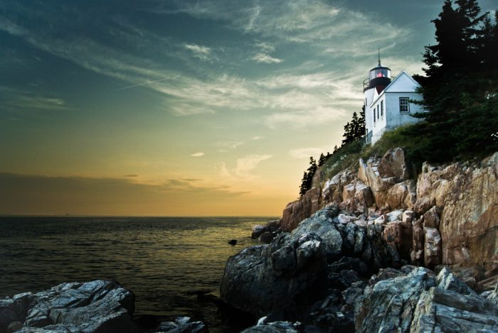 9. Explore the inside of Maine lighthouses on Open Lighthouse Day.