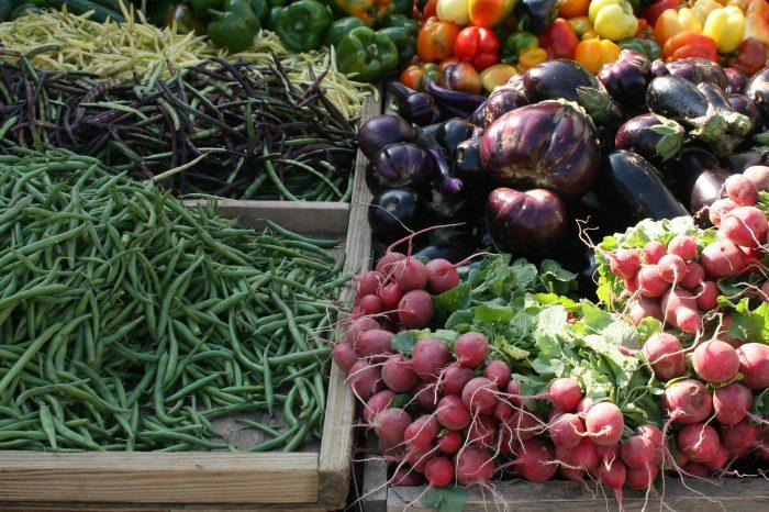 9. Because produce grows abundantly...