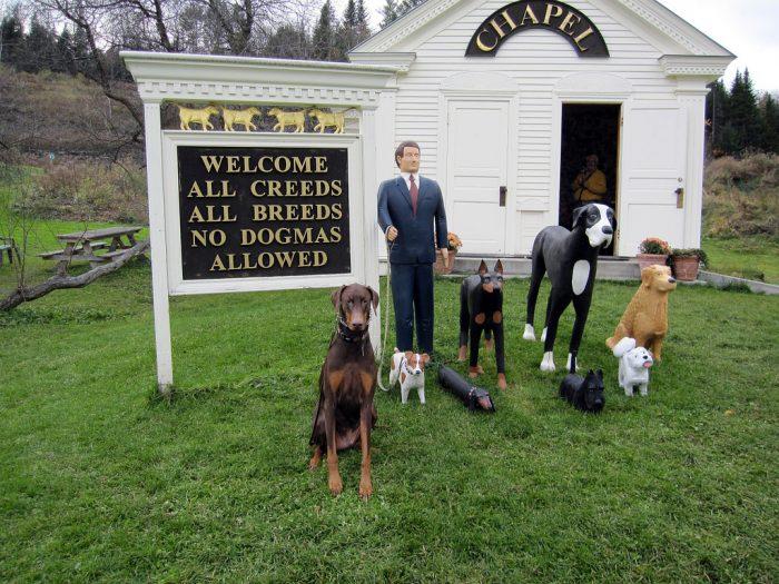 11.  A Dog Chapel