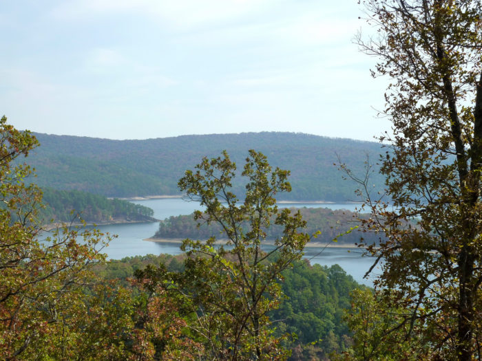 9. You can find tons of uninhabited islands on Lake Ouachita. They're perfect for a weekend of primitive camping.