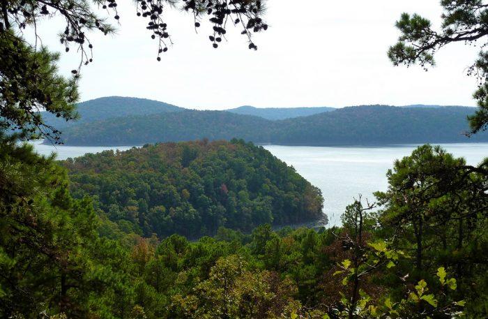 11. Stay on an island in Lake Ouachita.