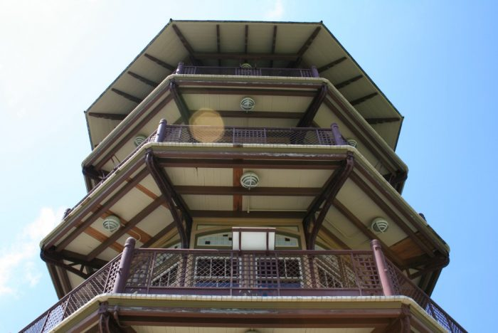 It sat quietly abandoned in the middle of Patterson Park for decades. Then, thanks to restoration efforts, it was officially fixed-up once more and reopened in 2002.
