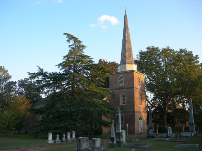 St. Paul's Episcopal Church and Churchyard