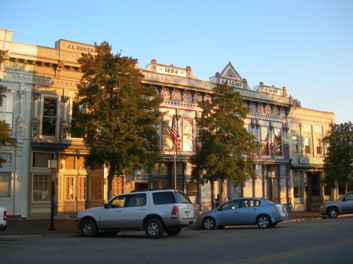Edenton's downtown is quaint.