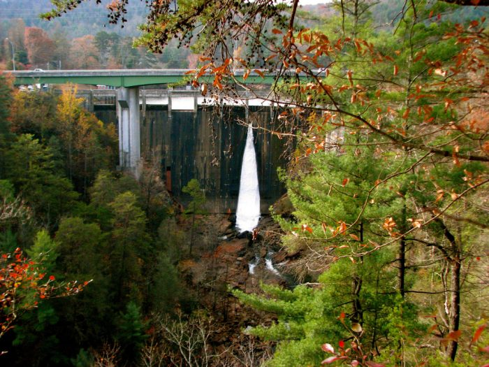 8. Witness the Whitewater Release at Tallulah Gorge