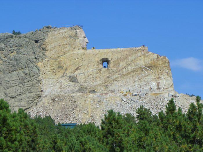 7. Crazy Horse Memorial