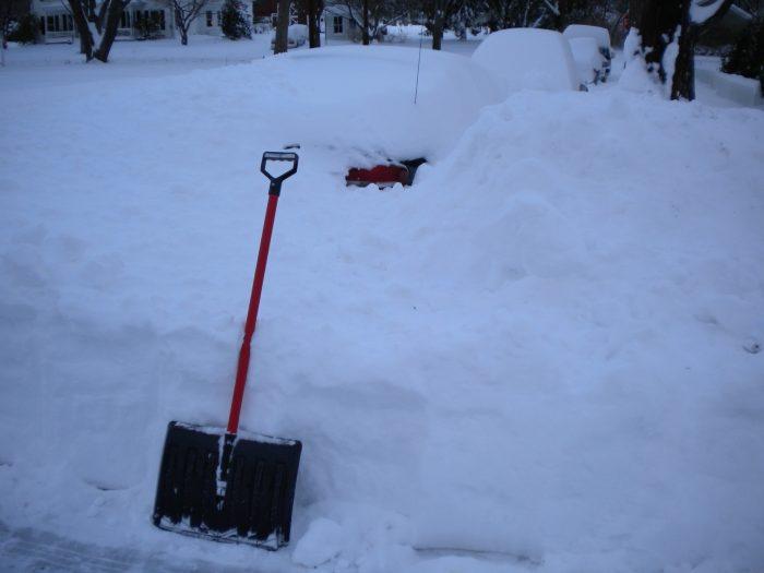 11. A Snow Shovel
