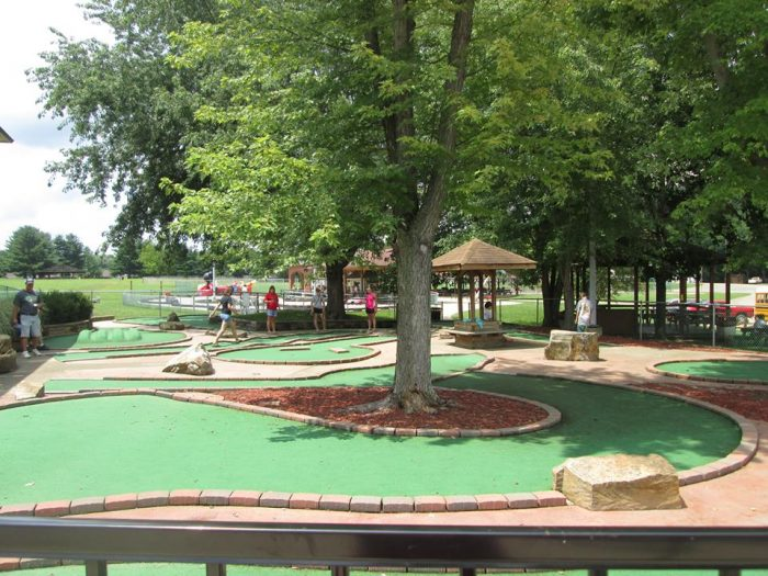 And there's a miniature golf course if you're looking for something the whole family can do together...