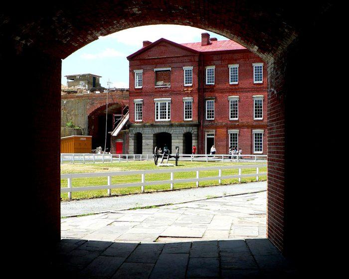3. Fort Delaware, Delaware City