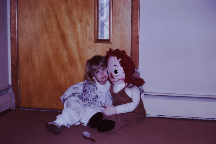 1. This photo from a family Christmas in 1971 reflects a time of flowing garments, vests, floral prints, and of course, the famous Raggedy Ann doll.