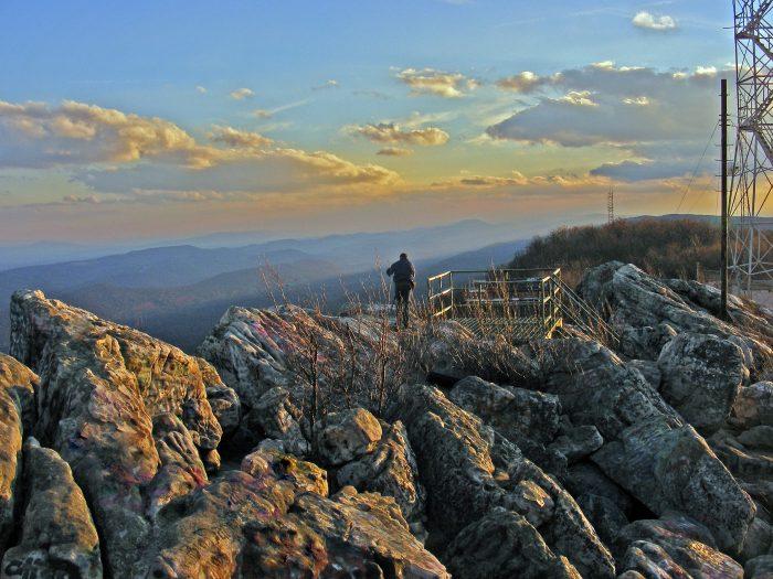 5. Dan's Rock Scenic Overlook