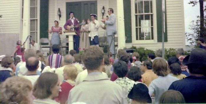 8. Check out the town of Brookfield in 1976, during their bicentennial celebration.