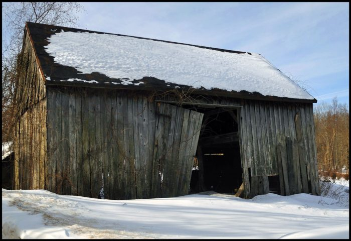 4. In Salem, the little barn that could is still holding on.