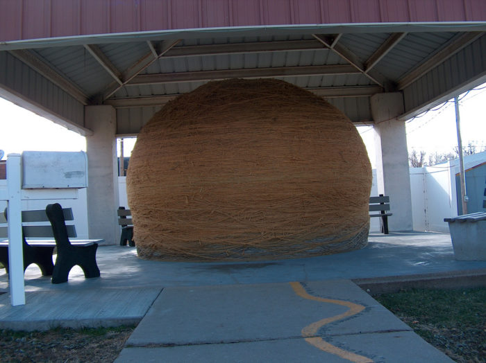 9. Finally, every true Kansan will never forget their first visit to the cool and kitschy World's Largest Ball of Twine...