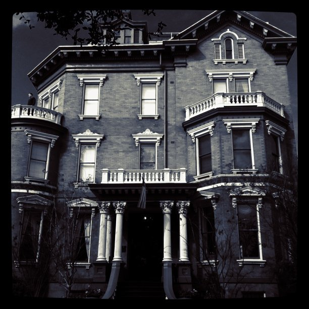 """3. """"Everything must be haunted."""""""