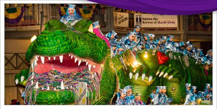 4) Attend All 3 SuperKrewes--and their balls!