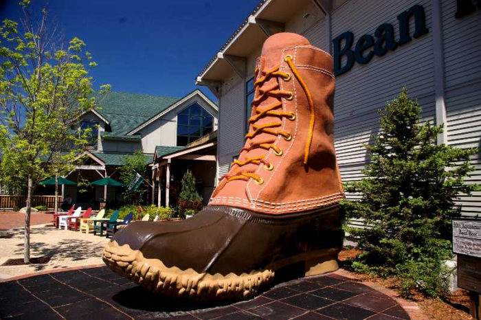 3. Order from L.L. Bean online instead of spending a day at the store and then...