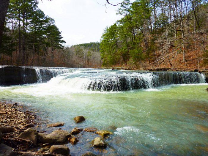 4. Haw Creek Falls