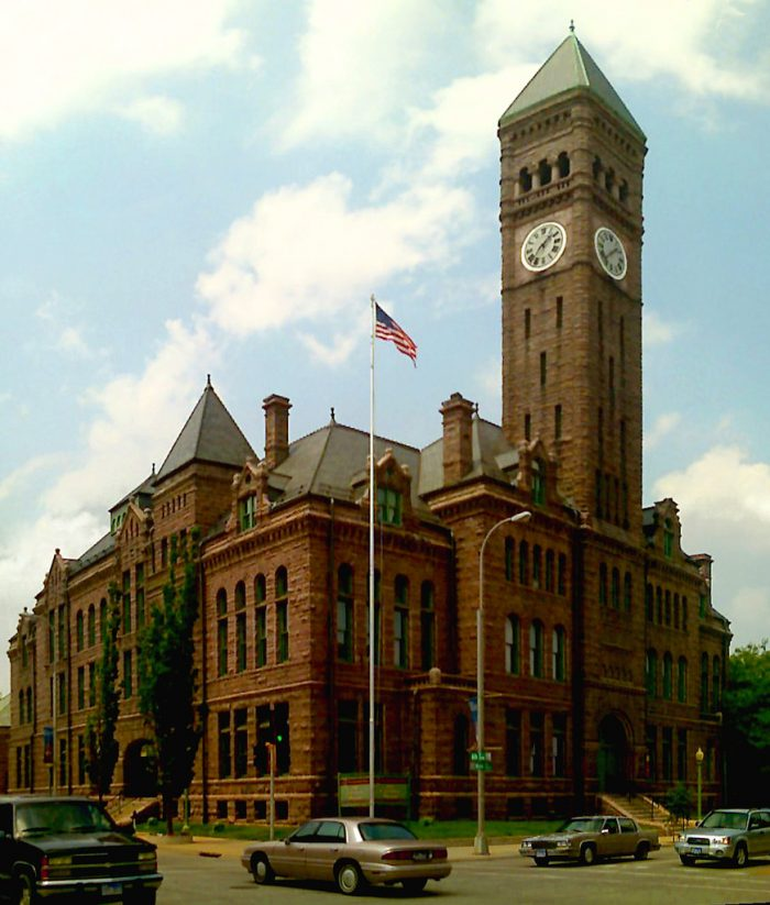 1. Old Minnehaha County Courthouse, Sioux Falls