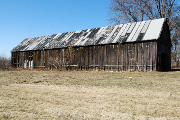 2. South Windsor is home to this long classic barn.