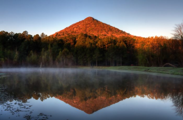 3. Pinnacle Mountain is unique and breathtaking.