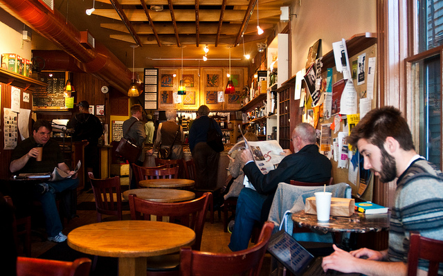 7. The small unique coffee shops of Rhode Island all serve amazing coffee.