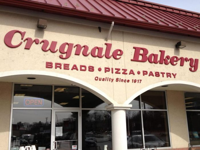 7. Pizza Strips and Zeppoles: Crugnale Bakery, Multiple Locations