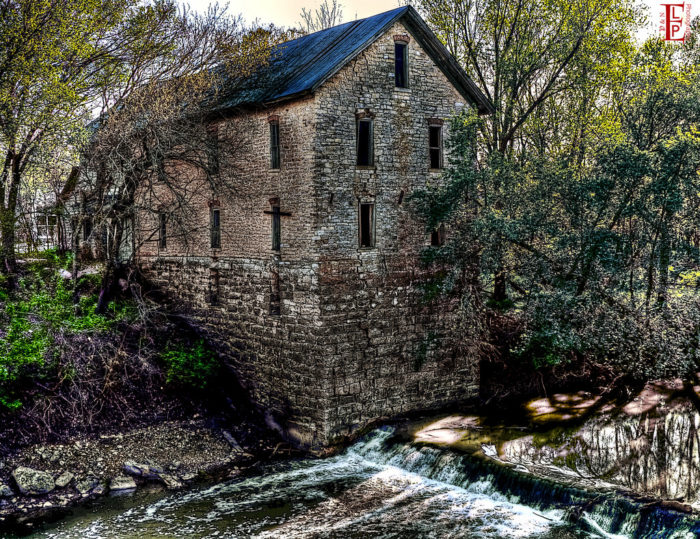 """7. """"The Old Mill"""""""