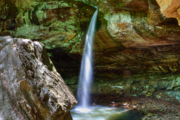 4. Pam's Grotto (near Haw Creek Campground)
