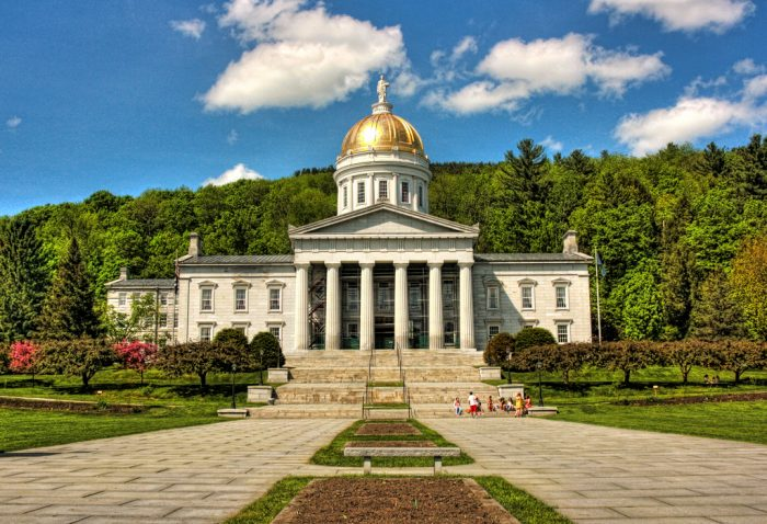 2.  Vermont State House, Montpelier