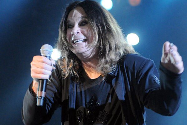 9. Ozzy Osbourne was once banned from playing in the city for ten years after relieving himself on the Alamo.